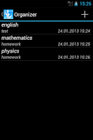 Screenshot of Students - Timetable