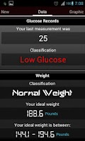 Screenshot of Register Glucose free