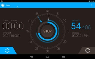 Screenshot of Stopwatch Timer