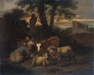 RIJKS: Simon van der Does: painting 1708