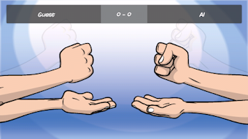 Screenshot of Rock Paper Scissors Online