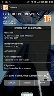 IB Soluciones Business APP - screenshot
