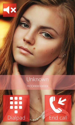 BIG caller ID Theme MetroRed