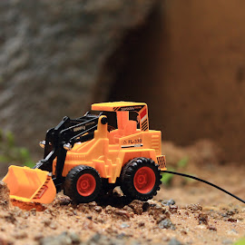 Toys by Sivakumar Kanniappan - Artistic Objects Toys ( jcb, happy, toys, rock, miniature )