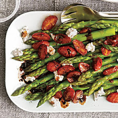 Asparagus with Balsamic Tomatoes