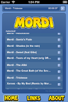 Screenshot of Mordi Player
