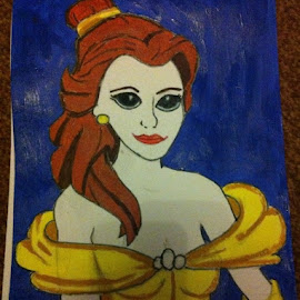 Belle by Kelly Robinson - Painting All Painting