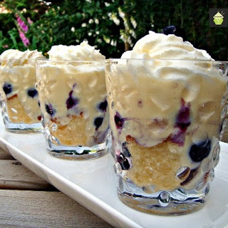 Blueberry & Lemon Trifle