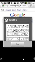 Screenshot of Graffiti Pro for Android