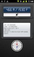 Screenshot of Altimeter PRO GPS