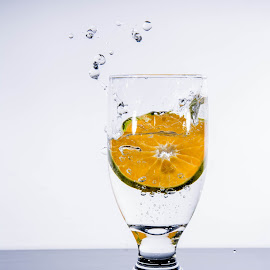 orange or juice by Littledog Photography - Food & Drink Alcohol & Drinks ( water, orange, splash, alcohol, glass )