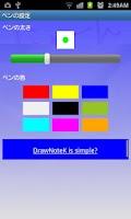 Screenshot of DrawNoteK
