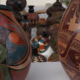 Street Fair Goods by Marilyn Casson - Artistic Objects Other Objects