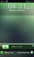 Screenshot of Go Locker Green Lockerscreen