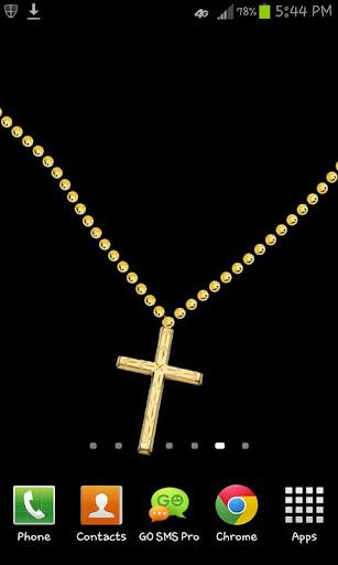 十字架項鍊動態壁紙