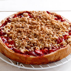 Strawberry Crumb Pie