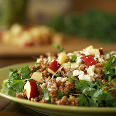 Apple Quinoa & Kale Salad
