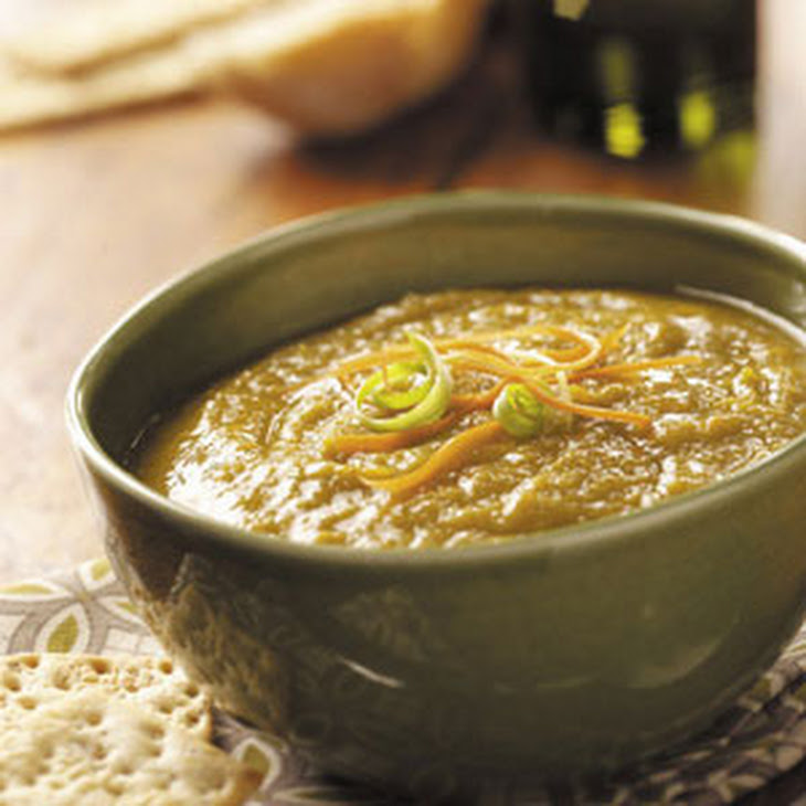 Vegetarian Split Pea Soup Recipe — Dishmaps