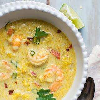 Thai Curry Coconut Shrimp Soup Recipes
