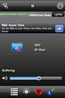 Screenshot of A Online Radio