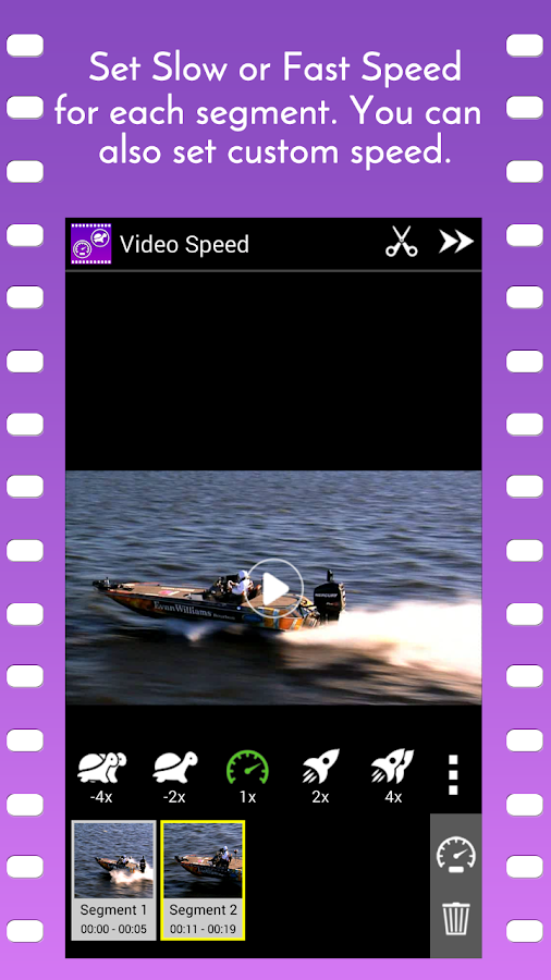 Video Speed Slow Motion & Fast Screenshot 2