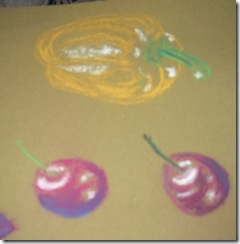 pastels 1 cherries and pepper