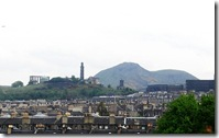 calton hill and arthur seat