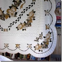 mennonite quilt detail corner