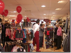 BHF shop pre-opening
