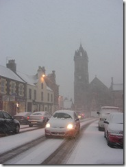 peebles high street snow