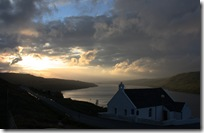 loch harport sunset