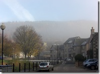 peebles foggy morning