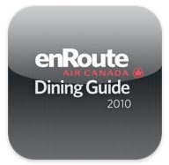 enroute magazine dining guide travel app