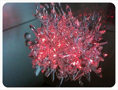 guestroom crystal feature