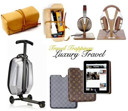 luxury travel gear