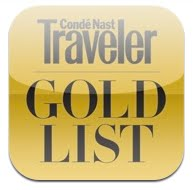 conde nast traveler gold list app review