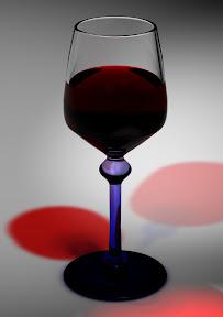 Weinglas erstellt mit Cinema 4D