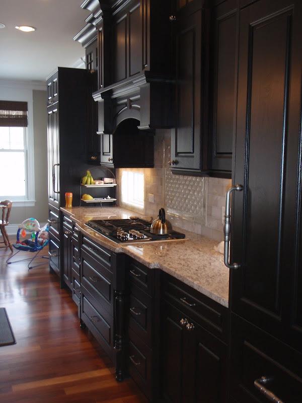 Kitchen Backsplash Espresso Cabinets