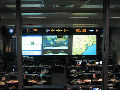 ISS mission control