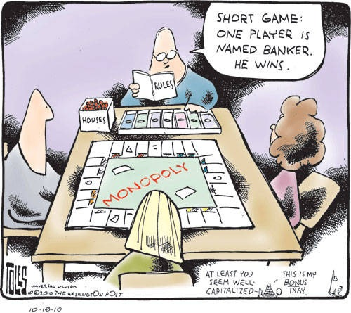 Monopoly-Foreclosure-Style