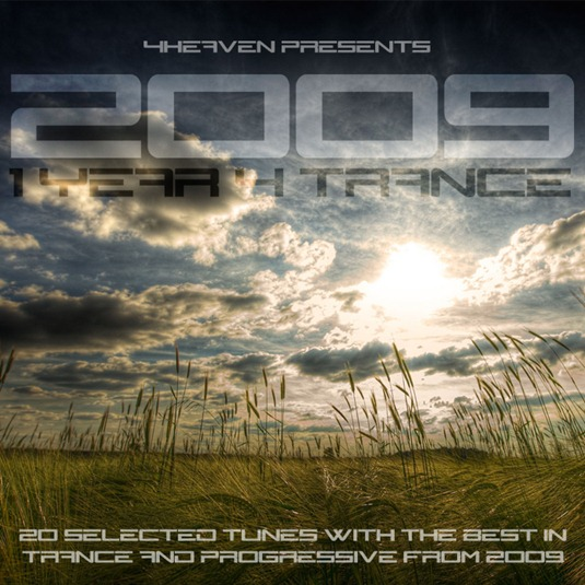 2009 1 Year 4 Trance Cover