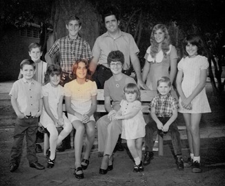Goulet family 1973 - Suzanne
