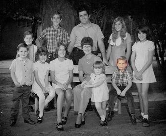 Goulet family 1973 Darren