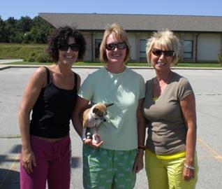 Jacq, Jodi, Becky and Ava 083009