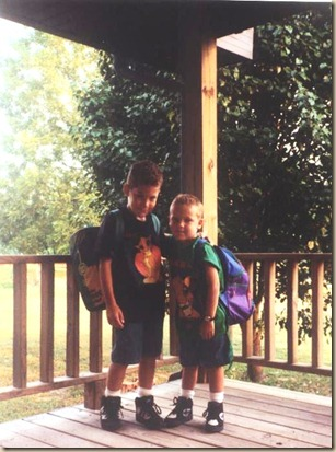 First Day of School 1994-95