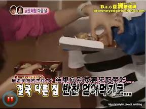 納涼特集便當事件3-佳人到其他兩組去要配菜吃