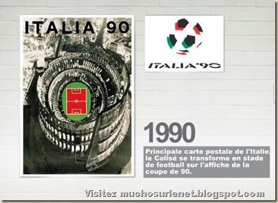 Affiche Italie 1990