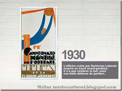 Affiche Uruguay 1930
