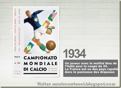 Affiche Italie 1934