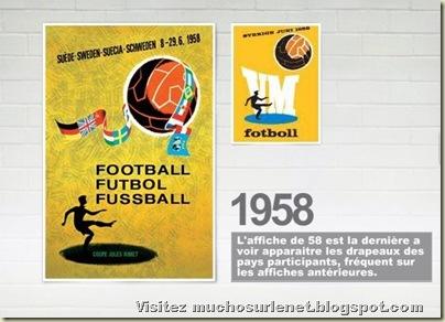 Affiche Suède 1958